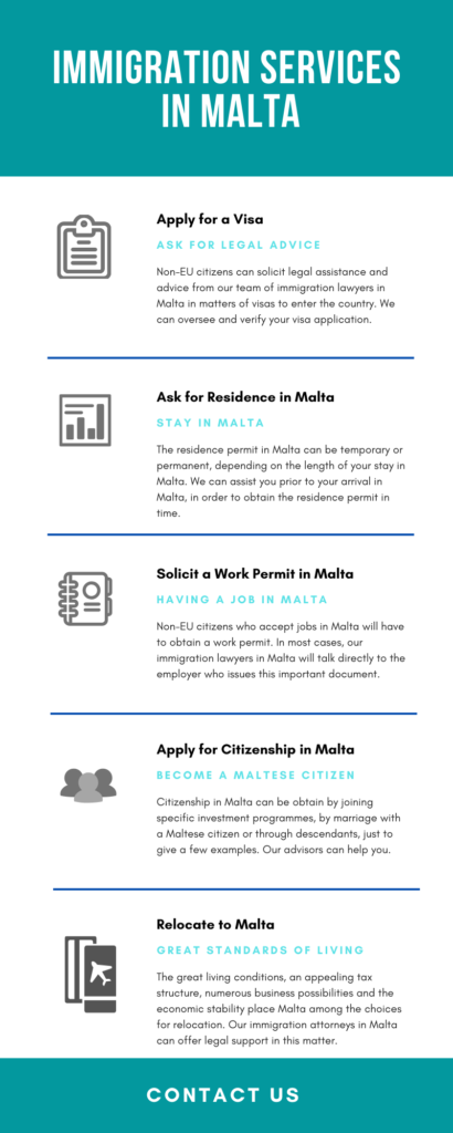 immigration services malta